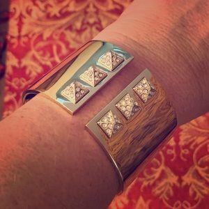 Victoria's Secret Gold Cuff Bracelet